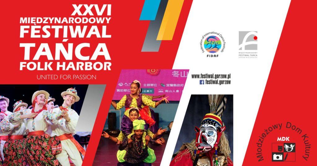 Baner Międzynarodowy Festiwal Tańca 2021