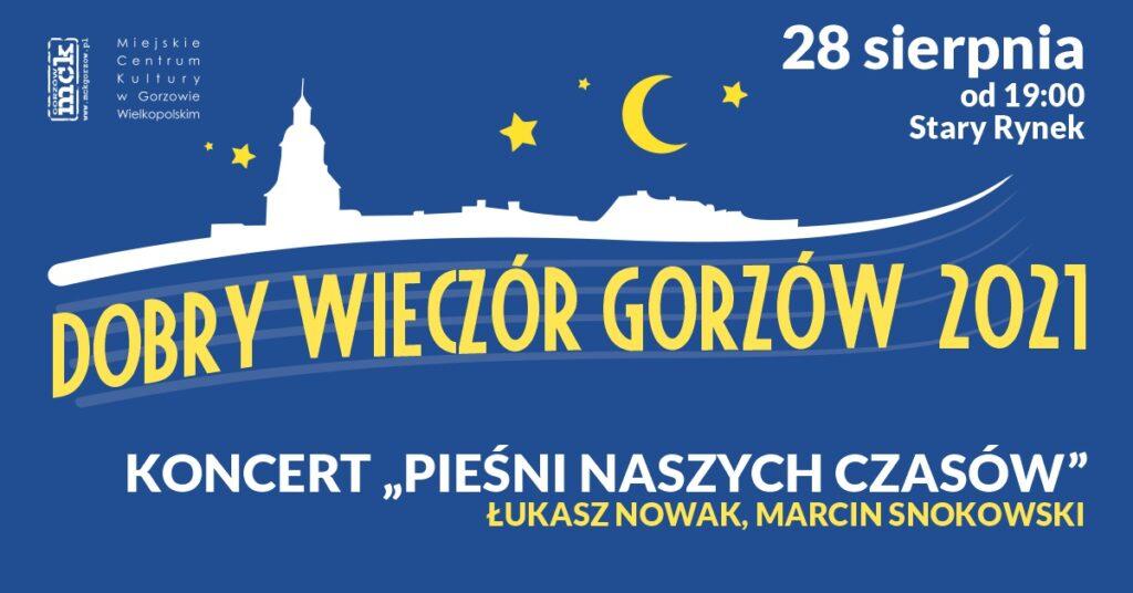2021.08.28 wydarzenia Dobry Wieczór Gorzów